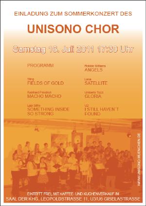 Konzert Sommersemester 2011