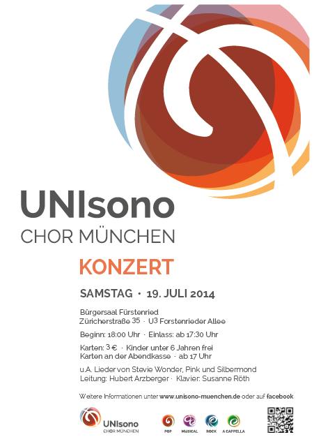 Konzert Sommersemester 2014