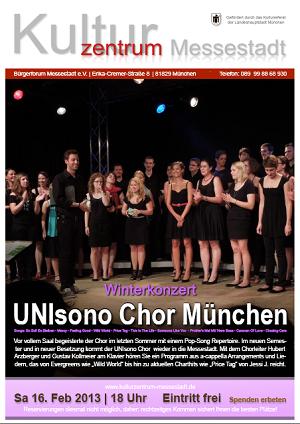 Konzert Wintersemester 2012/13