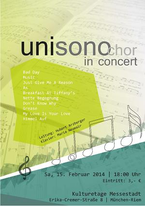 Konzert Wintersemester 2013/14